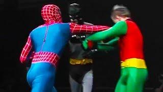 Ozzy Man Reviews: Superhero Showdown