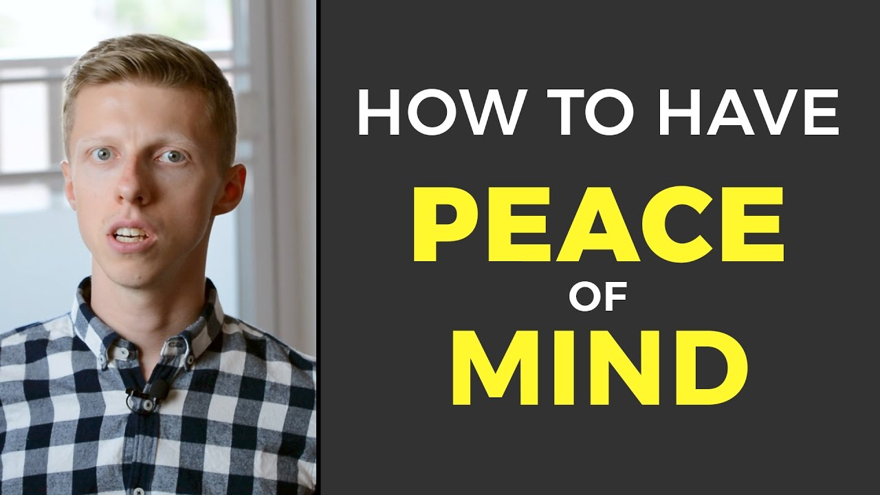 Developer's Guide To Peace Of Mind
