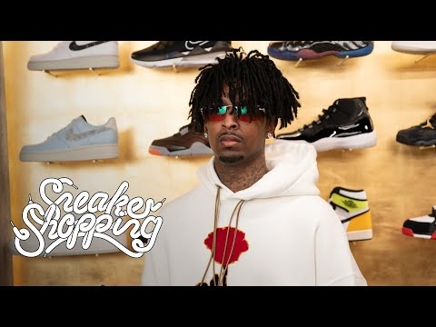 21 Savage Returns For Sneaker Shopping With Complex