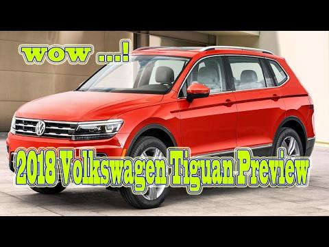 2018 Volkswagen Tiguan Preview – new cars buy