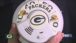 Green Bay and Atlanta firefighters make a friendly wager on Sunday