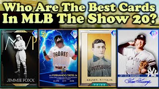 COMPREHENSIVE POSITIONAL TIER LIST - Patch 1.19 (October 3rd, 2020) [MLB The Show 20]