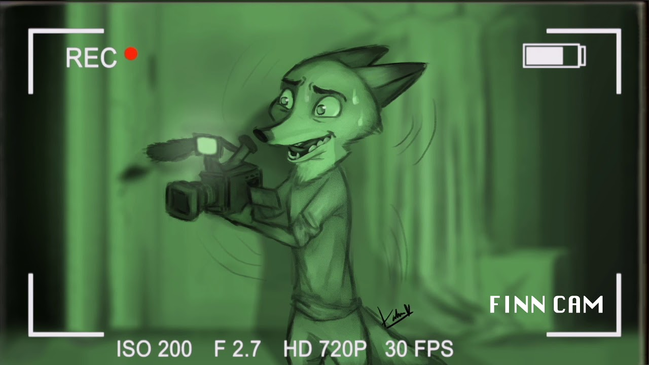 Comic Dub: Ghost Adventures in Zootopia (by Katie Katastrophe)