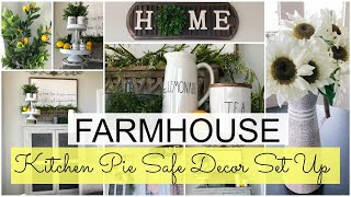 🍋 FARMHOUSE/FRENCH COUNTRY DECORATE WITH ME | KITCHEN NOOK + DOLLAR TREE DECOR!