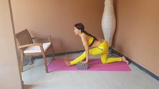 Упражнение для растяжки задней поверхности бедра