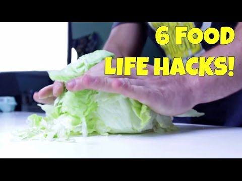 6 AWESOME Food Life Hacks You Should Try!
