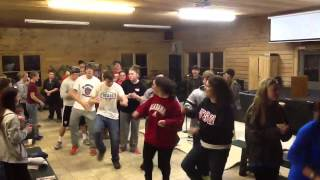 """33 miles performing """"Thank You""""at 2013 RFBC winter retreat"""
