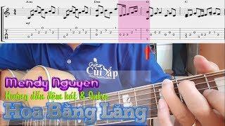 Hướng dẫn guitar & Intro | Hoa bằng lăng (Jimmy Nguyễn) - Mendy Nguyễn GCB