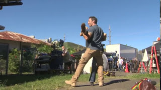 Hawaii Five-0: Behind The Scenes Stunts With Alex OLoughlin