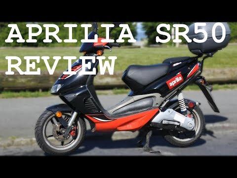 Aprilia sr50 review – best 50cc scooter