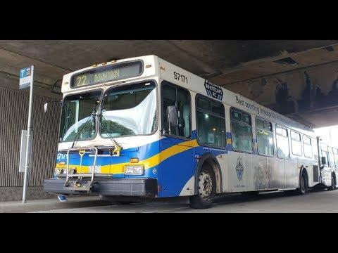 Vancouver Translink 1996 New Flyer D40LF - S7171