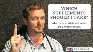 Which Supplements Should I Take? What Actually Helps?