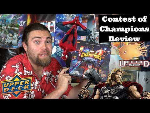 Marvel : Contest of Champions - Board Game Review