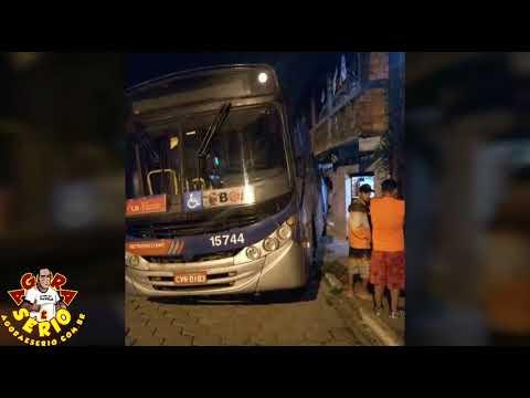 Acidente com Ônibus da Miracatiba no Distrito dos Barnabés