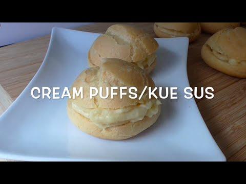 Video Cream Puffs Recipe / resep kue sus