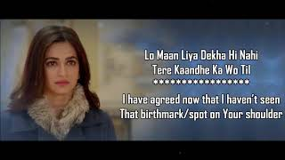 Lo Maan Liya   Arijit Singh   Raaz Reboot   Lyrical Video With Translation   YouTube