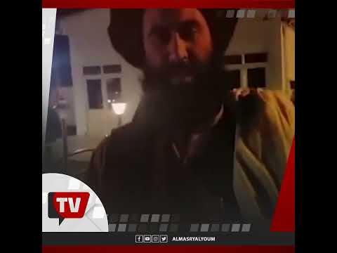 فرحة عناصر طالبان بعد السيطرة على مطار كابول بالكامل بعد انسحاب آخر جندي أمريكي من أفغانستان