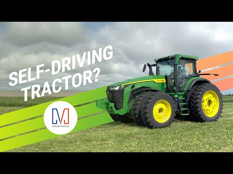 I Took A Ride On a Self-Driving Tractor!