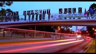 Lights of Wisconsin: Vote Tom Barrett