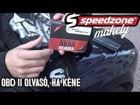 Speedzone műhely: Megint egy kütyü: OBD II olvasó, ha kéne
