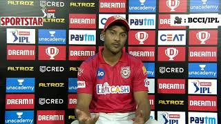 Mayank Agarwal on KXIP loss to KKR, Bishnoi-Arshdeep and partnership with KL Rahul | KXIP v KKR - Download this Video in MP3, M4A, WEBM, MP4, 3GP