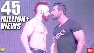 John Abraham Vs Sheamus WWE Superstar In Mumbai - Force 2 Promotion