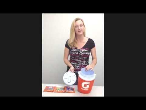 Video Gatorade 1 Gallon Cooler