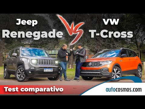 Test Jeep Renegade Vs. VW T-Cross