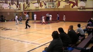 preview picture of video 'Etobicoke Thunder 24 vs  Mississauga Knights 37 - 09 Nov 13'
