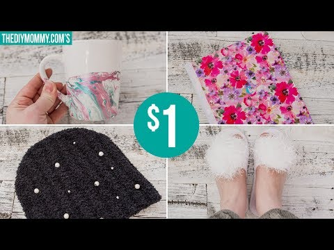 4 BEAUTIFUL DOLLAR TREE DIY GIFT IDEAS