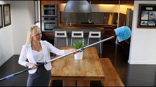 Best Cleaning Duster for High Ceilings - Eversprout Cobweb Duster (20+ Feet of Reach)