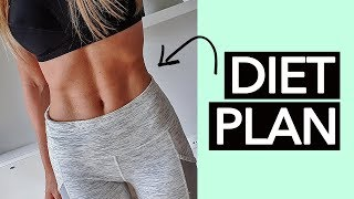Diet Plan For Flat Stomach & Abs (Step By Step!)