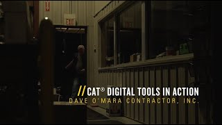 Cat Digital Tools for Paving Contractors | Dave O'Mara Contractors Inc