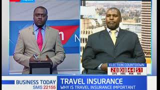 Stanley Waweru on significance of Travel Insurance