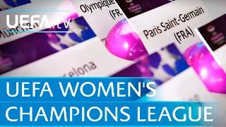 Full quarter-final draw: 2016/17 Women