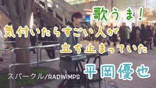 通る人が立ち止まる歌声!スパークル/RADWIMPS(平岡優也)
