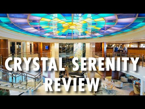 Crystal Serenity Tour & Review ~ Crystal Cruises ~ Cruise Ship Tour & Review