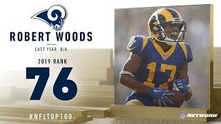 #76: Robert Woods (WR, Rams) | Top 100 Players of 2019 | NFL