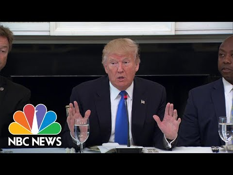President Donald Trump: Heller 'Wants To Remain a Senator, Doesn't He?' | NBC News