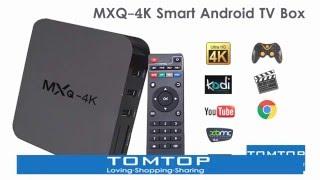 Приставка смарт ТВ Android Smart TV MXQ PRO 4K, смарт приставка к телевизору TV BOX Internet TV от компании ТехМагнит - видео