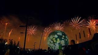 Салют на Церемонии закрытия ЭКСПО-2017 в Астане