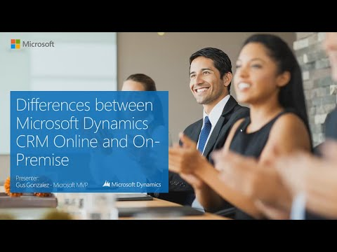 Differences between Microsoft Dynamics CRM Online vs On-Premise