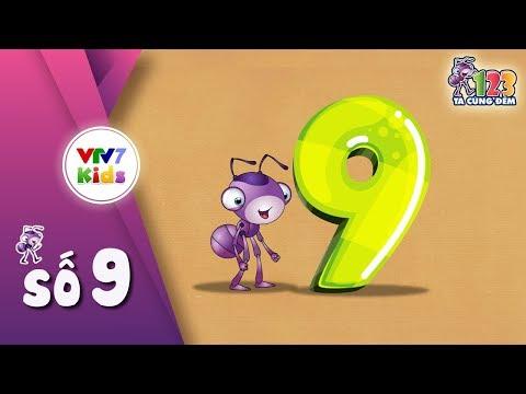 Hoạt động làm quen với toán: 123 ta tập đếm - số 9. Lứa tuổi: mẫu giáo lớn 5-6 tuổi.
