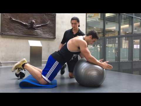 Trainer Tips: Stability Ball Rollout