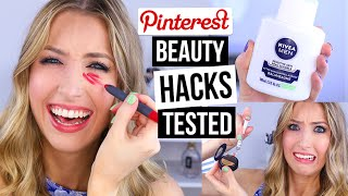 Pinterest Beauty Hacks TESTED #9
