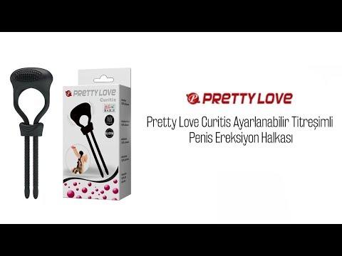 Pretty Love Curitis Ayarlanabilir Titreşimli Penis Ereksiyon Halkası