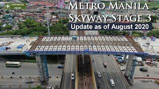 Metro Manila Skyway Stage 3 Update As Of August 2020