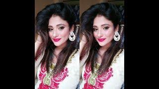 Eid Makeup Tutorial For Girls    Golden Cut Crease    2017   shy Styles