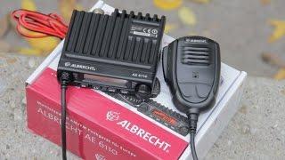 Albrecht 6110 mini CB rádió