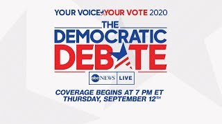 ABC News Democratic Debate - WATCH THE FULL DEBATE (2019)
